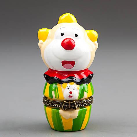 """Шкатулочка """"Веселый клоун"""" 9 см (016E), фото 2"""
