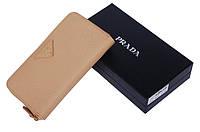 Женский кошелек Prada Biege, фото 1