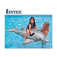 Детский надувной плотик Intex - Дельфин