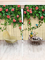 Фотошторы цветы (30968_1_1)