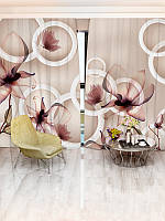 Фотошторы цветы (30984_1_1)
