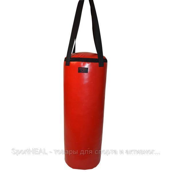 Мешок боксерский Champion 780 мм * 300 мм красный ПВХ