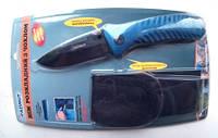 Нож складной с клипсой + чехол 856