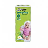 Подгузники Libero Everyday Midi 3 (4-9 кг) 46 шт либеро эвридей