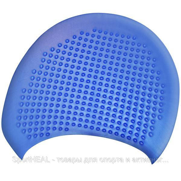 Шапочка для плавания на длинные волосы GP-002-blue