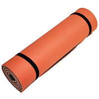 Коврик для фитнеса Champion 1800х600х12 оранжево-серый