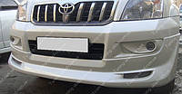Обвес Тойота Прадо 120 (комплект накладок на бампера Toyota Prado 120)