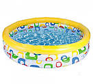 Детский надувной бассейн Color Wave Pool 58449 (168 х 41), фото 2