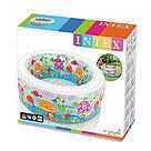 """Детский надувной бассейн """"Аквариум"""" Intex 58480 (152x56 см.) надувное дно, фото 3"""