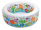 """Детский надувной бассейн """"Аквариум"""" Intex 58480 (152x56 см.) надувное дно, фото 4"""