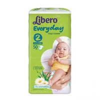 Подгузники Libero Everyday Mini 2 (3-6 кг) 50 шт либеро эвридей