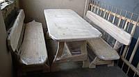 Комплект мебели из сосны Эконом L=2000мм