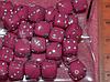 Бусина пластиковая кубики розовые ( упак. 33 шт)