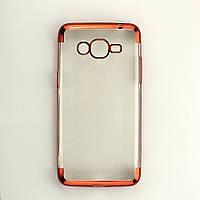 Чехол Frame для Samsung Galaxy J2 Prime / G532F силиконовый бампер Red