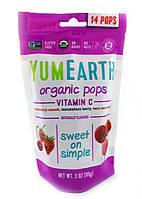 Леденцы органические Витамин C Yummy Earth 14 шт
