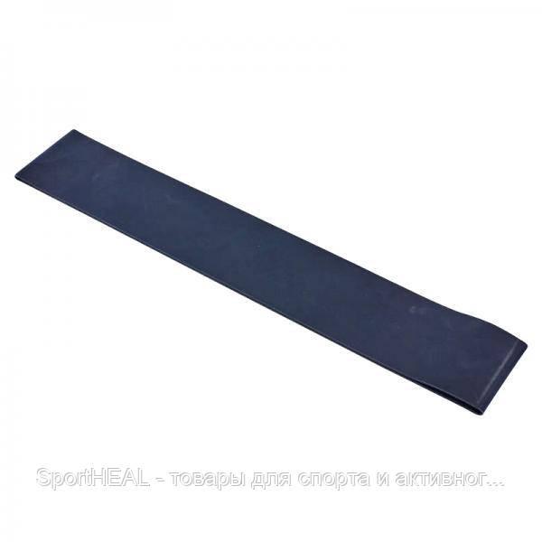 Эспандер ленточный 001-BK Лента сопротивления Champion черный силикон 600x60x1,2 XL
