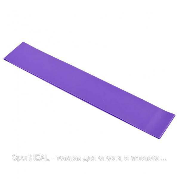 Эспандер ленточный 001-V Лента сопротивления Champion фиолетовый силикон 600x60x0,6 S