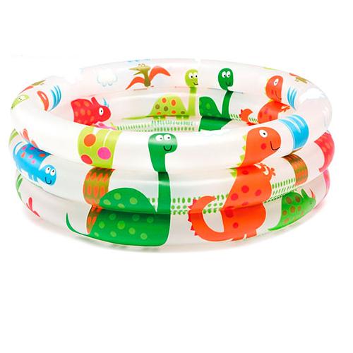 "Детский бассейн ""Dinosaur 3-Ring Baby Pool"" Intex 57106 (61х22 см)"