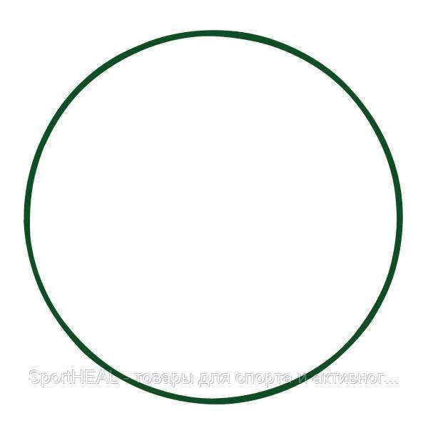 Обруч металлический 650 мм цвет зеленый