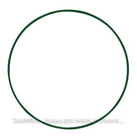Обруч металевий 650 мм колір зелений