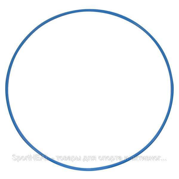Обруч металлический 750 мм цвет синий