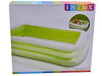 """Детский надувной бассейн """"Семейный"""" Intex 56483 (262х175х56 см.) 2 цвета"""
