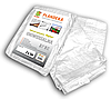 Тент (тарпаулин) водонепроницаемый WHITE 90 гр/м? размер 2 х 3м, PLW902/3