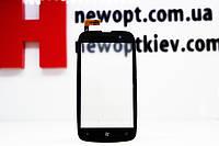 Тачскрин (Сенсор дисплея) Nokia Lumia 610 черный оригинал Китай, фото 1