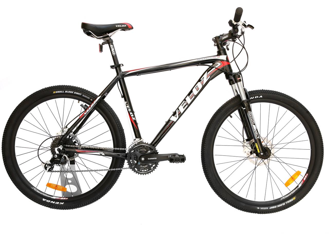 Велосипед горный VELOZ SPORTS PRO HIDRO DISC 24SP