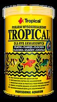 ТРОПИКАЛ - основной корм для всех видов аквариумных рыб, 100мл, 20гр.