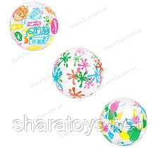 Мяч надувной для игры на воде 3 вида