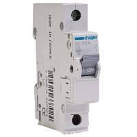 Hager Автоматический выключатель In=16А, 1п, С, 6 kA, 1м MC116A