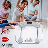 Напольные весы D&t Smart  dt2003b до 180 кг (шаг 0,1 кг), фото 2