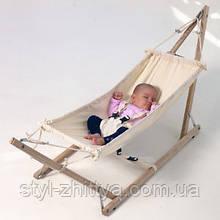 Дитячий гамак на підставці для новонароджених. Гамак+стійка