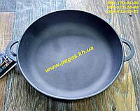 Сковорода чугунная (порционная) 200х35 печи, барбекю, мангал