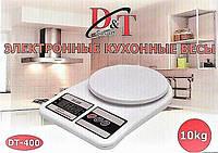Электронные кухонные весы D&t Smart Dt-400 до 10 кг
