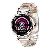 Lemfo H2 женские смарт часы - Золото, фото 1