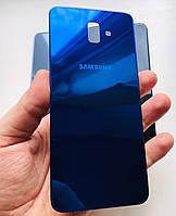 Задняя крышка для Samsung J610 J6 Plus синяя