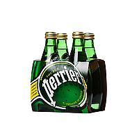 Упаковка мінеральної лікувально-столової газованої води Perrier 0.33 л x 4 шт