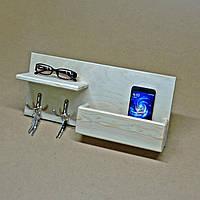 Ключница деревянная Конуи без отделки