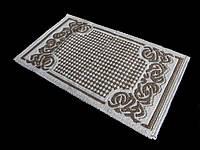 Турецкий коврик для ванной размер 60Х100 хлопок, фото 1