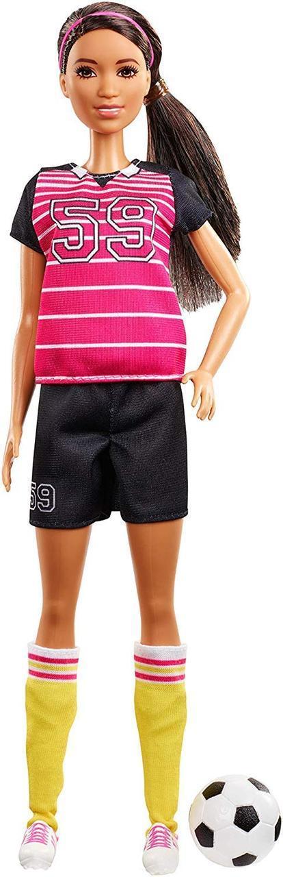 Кукла Барби Оригинал в футбольной форме (GFX26) (887961772067)