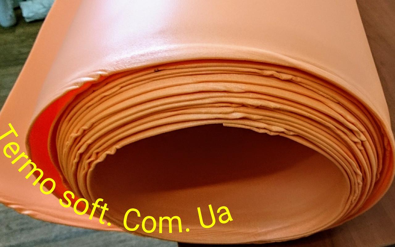 Цветной ИЗОЛОН для изготовления ростовых цветов ППЕ 3002 ( ОРАНЖЕВЫЙ )