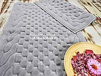 Maco erguvan gri, Набор ковриков с кружевами,