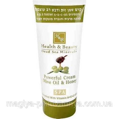 Крем для тела Health & Beauty интенсивный на основе оливкового масла и меда 100 мл, арт.043695