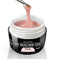 Конструирующий гель - Naomi UV Builder Gel Pink 28 гр. (розовый)