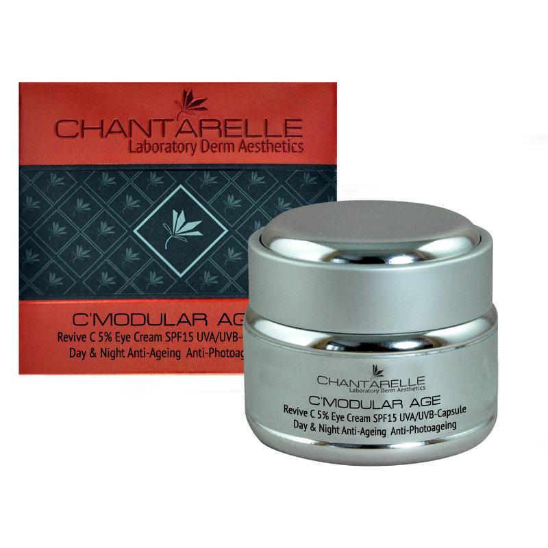 Омолаживающий крем с витамином С вокруг глаз  Revive C 5 % Eye Cream 30 ml Chantarelle