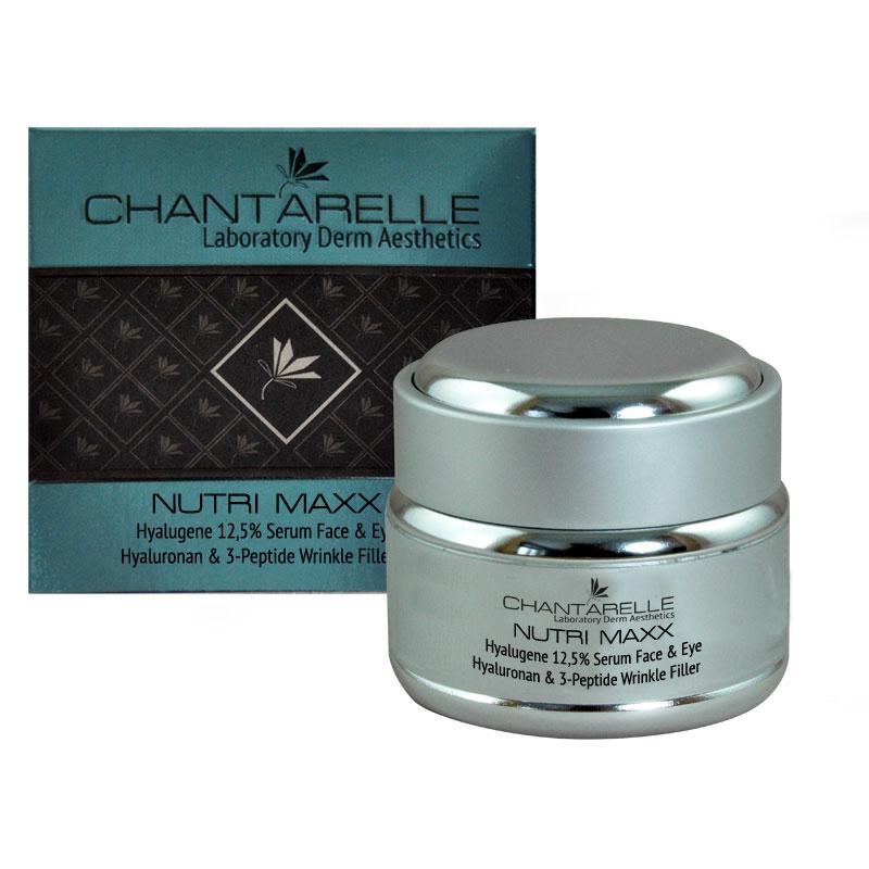 Увлажняющая омолаживающая сыворотка Hyalugene 12,5 % Serum Face & Eye 30 ml Chantarelle
