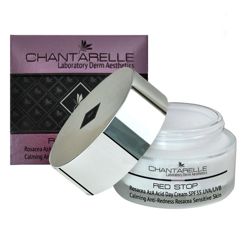 Дневной крем  при розацеа и куперозе Rosacea AzA Acid Day Cream SPF 35 UVA / UVB 50 ml Chantarelle