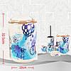 Набор аксессуаров для ванной комнаты Bathlux Paris на 6 предметов, фото 4